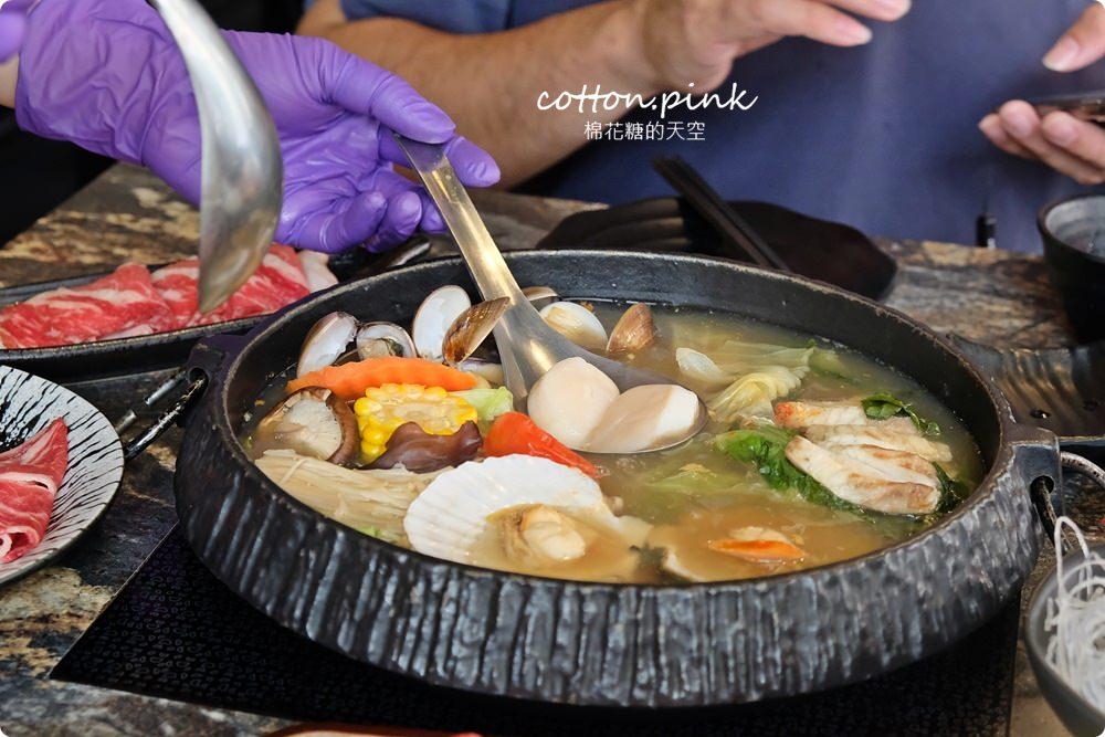 台中火鍋大推薦-京燒渦物一鍋兩吃,關西風壽喜燒乾煎肉片太好吃啦!
