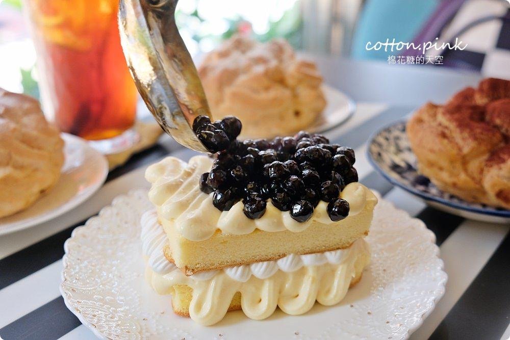 台中沙鹿必吃超大泡芙爆漿啦!芋泥控不能錯過蛋糕盒子~練勤堂還有黑色太陽餅、五色檸檬蛋糕喔!