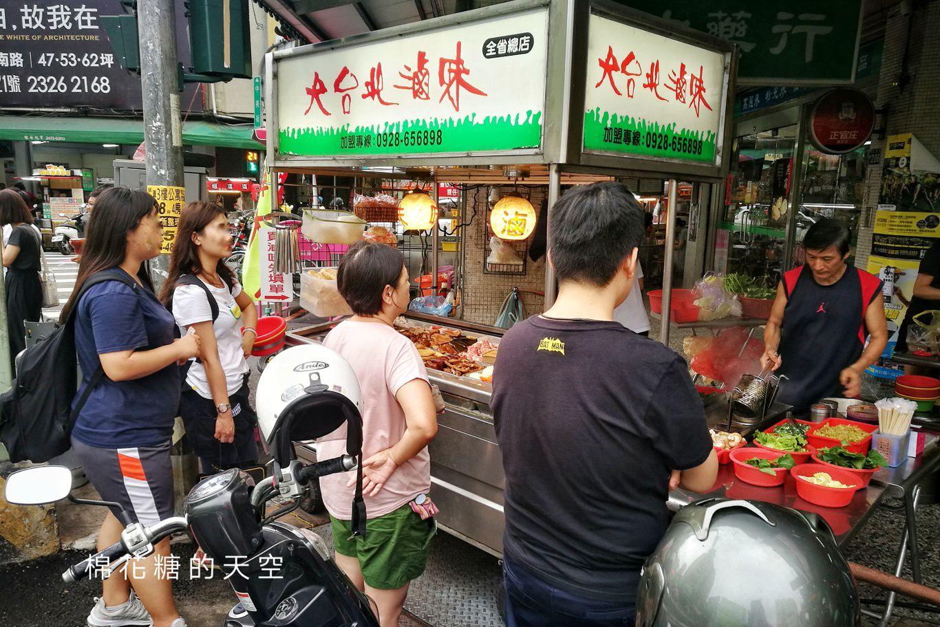 中美街宵夜超人氣攤位-大台北滷味,饕客推薦一定要點這一味!