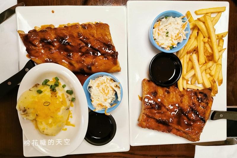 星期五限定豬肋排買一送一~美式餐廳大優惠