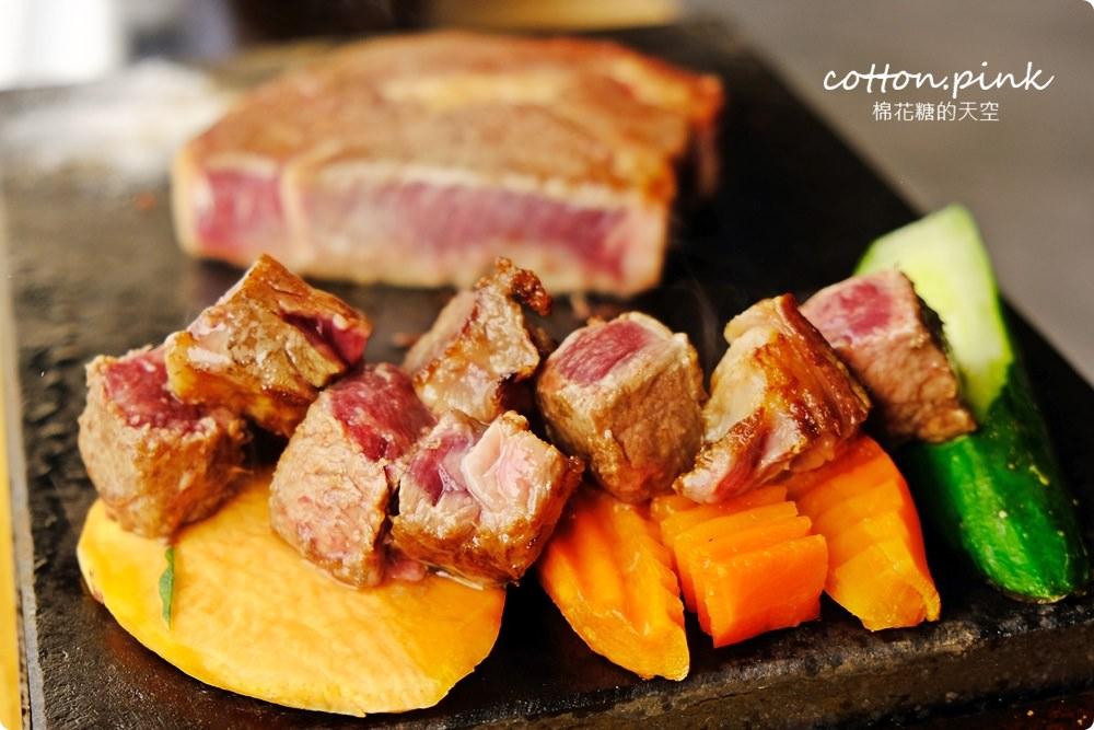 平實花費超豐富吃到飽大享受!台中大里鼎岩牛排高溫石板直接上桌烤牛排!