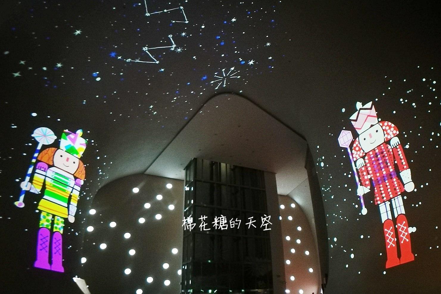 台中國家歌劇院也開始過聖誕啦!夢幻光影秀今年中西合併超有氣氛!