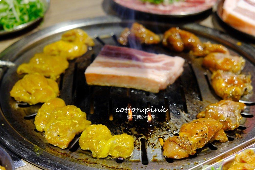 台中公益路唯一韓式燒肉吃到飽!五花肉.KR mini韓國烤肉BBQ台中只有這一家~