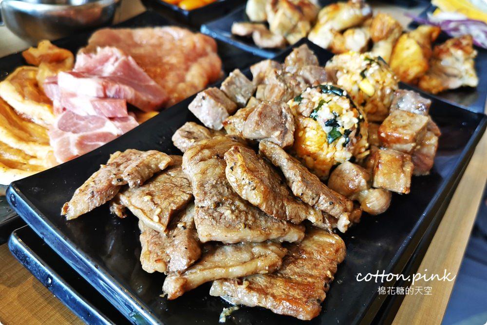 台中吃到飽這家真的吃很飽~肉食夥伴動起來!最新肉鮮生滿滿肉盤不怕你吃,歡迎使用振興卷!