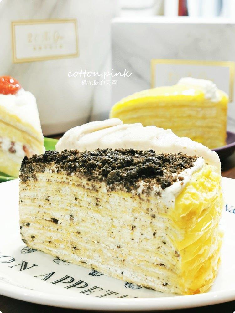 台中千層蛋糕推這家!逢甲夜市就買得到~2度C千層蛋糕繽紛拼盤六種口味一次吃!