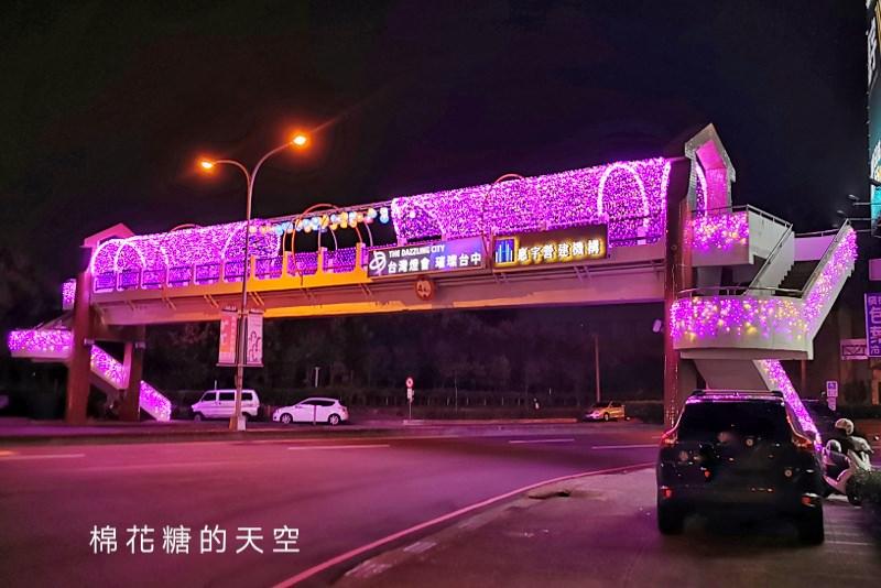 台中燈會番外篇-台中最新IG打卡點,台灣大道路橋變超美