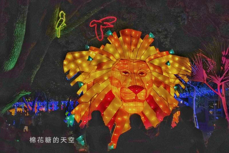 20200210160428 34 - 台灣燈會后里馬場燈區每晚都有高空特技表演~免費入場超好看!