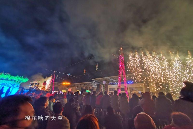 20200210160435 4 - 台灣燈會后里馬場燈區每晚都有高空特技表演~免費入場超好看!
