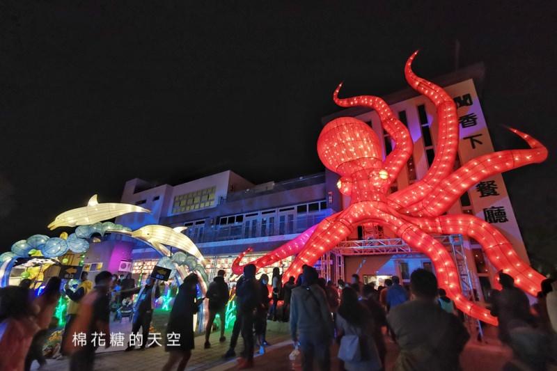 20200210160450 49 - 台灣燈會后里馬場燈區每晚都有高空特技表演~免費入場超好看!