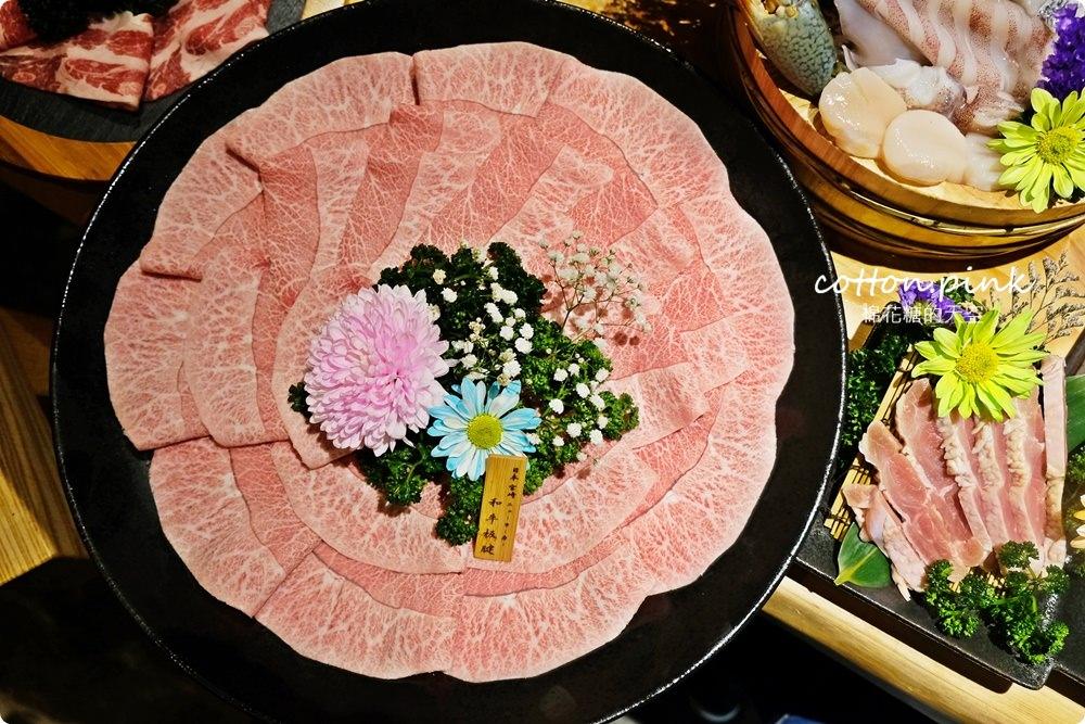 台中和牛推薦-暮藏和牛鍋物~桌邊服務火鍋享受的極致!活海鮮也大推~飯後還有驚喜美味!