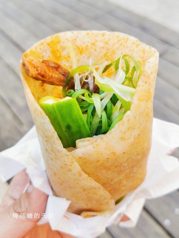 台中草悟道快閃排隊美食-爵士音樂節必吃全國飯店烤鴨捲每週限定兩天半販售中!