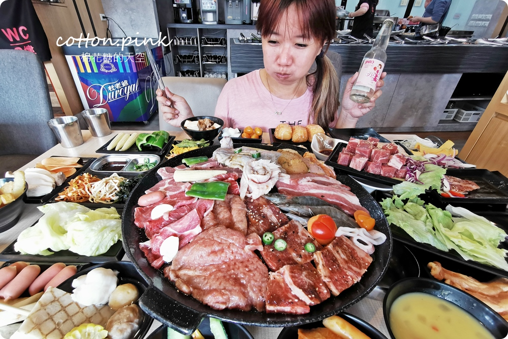 台中吃到飽這家真的吃很飽~肉食夥伴動起來!最新肉鮮生滿滿肉盤不怕你吃,歡迎使用振興券!