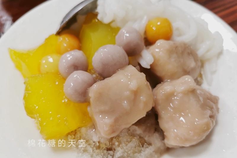 大里冰店推這家!芋頭、芋圓還有自製米苔目~福圓仔每日限量晚來就吃不到了