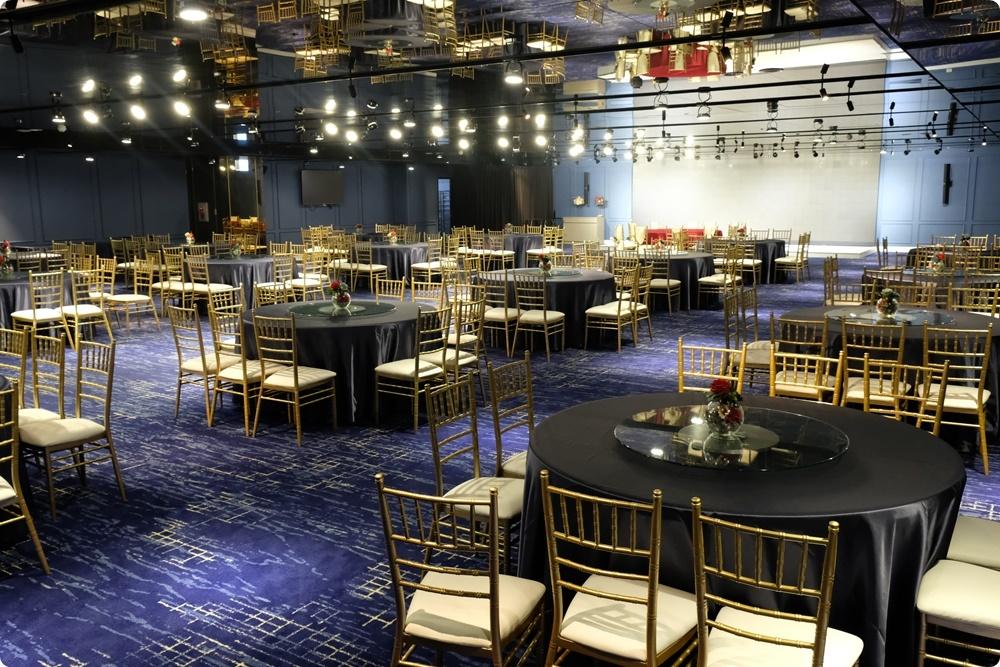 台中婚宴會館多一家!就在火車站旁~天圓地方儷軒會館大小廳都有,一桌也能坐優雅包廂