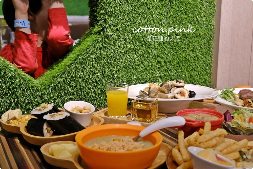 台中親子餐廳推薦|嘻遊聚球池、沙坑、溜滑梯...通通有,中午時段一票暢玩大放送~