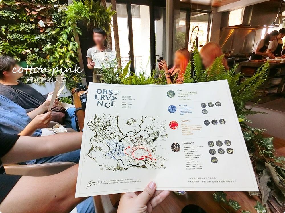 一年只開三個月!Feuille芾飲食實驗室2020年用地圖當菜單~超乎想像的Fun Dinine!