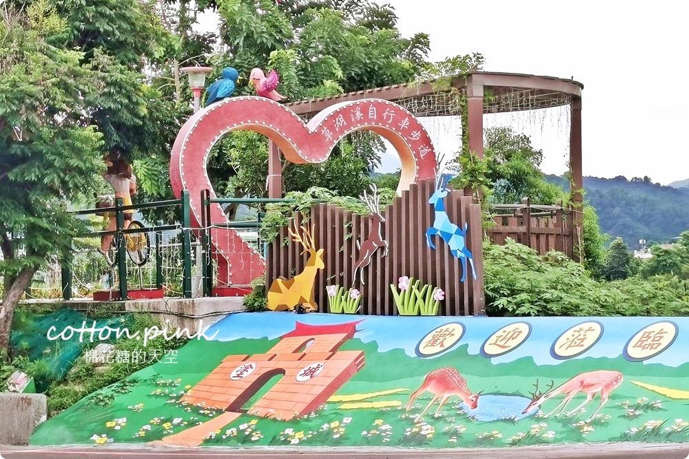 台中大里新景點一日遊|腳踏車、博物館、打卡小公園~連夢幻夜景河岸公園通通有
