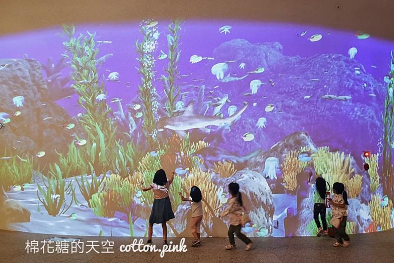 """台中也有海洋公園?!台中國家歌劇院最新""""光之曲幕""""免費進場~看極光免出國!"""