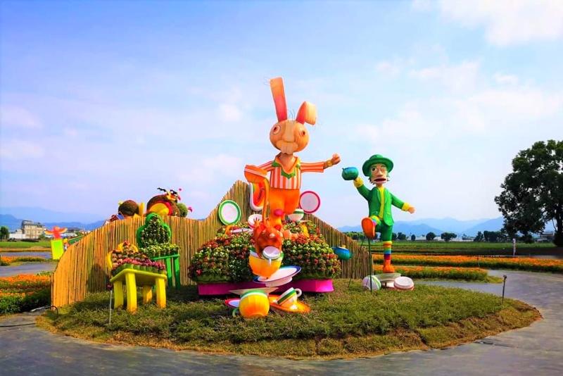 2020台中國際花毯節最新接駁車資訊!新社花海一日遊這次滿滿童話風~