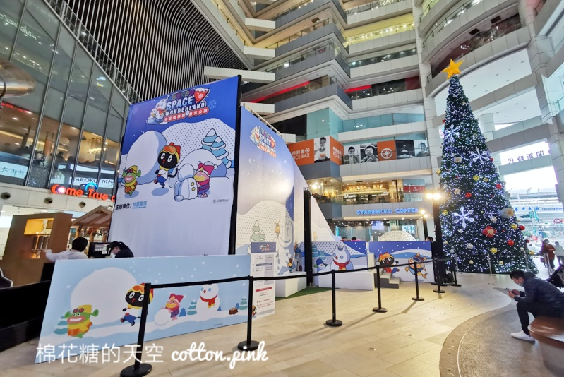 台中聖誕節景點推薦|聖誕樹旁滑雪橇大魯閣新時代超有過節氣氛的啦~
