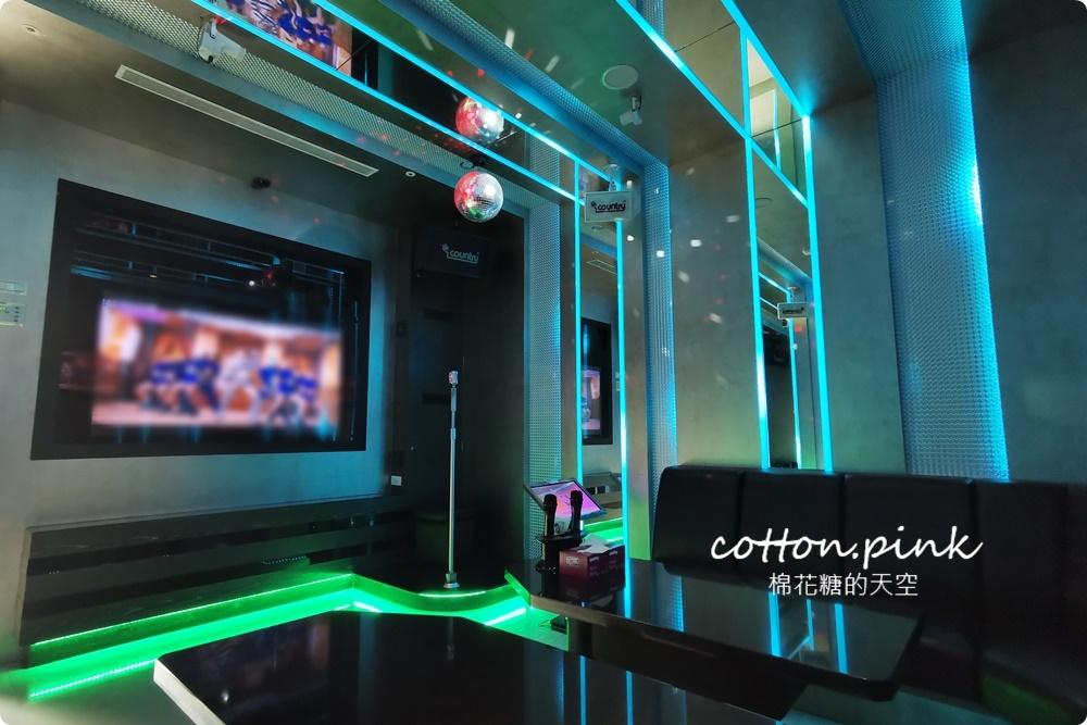 台中KTV內部改裝升級!老牌故鄉KTV燈光、點歌系統大更新~唱歌還有自助吧吃到飽