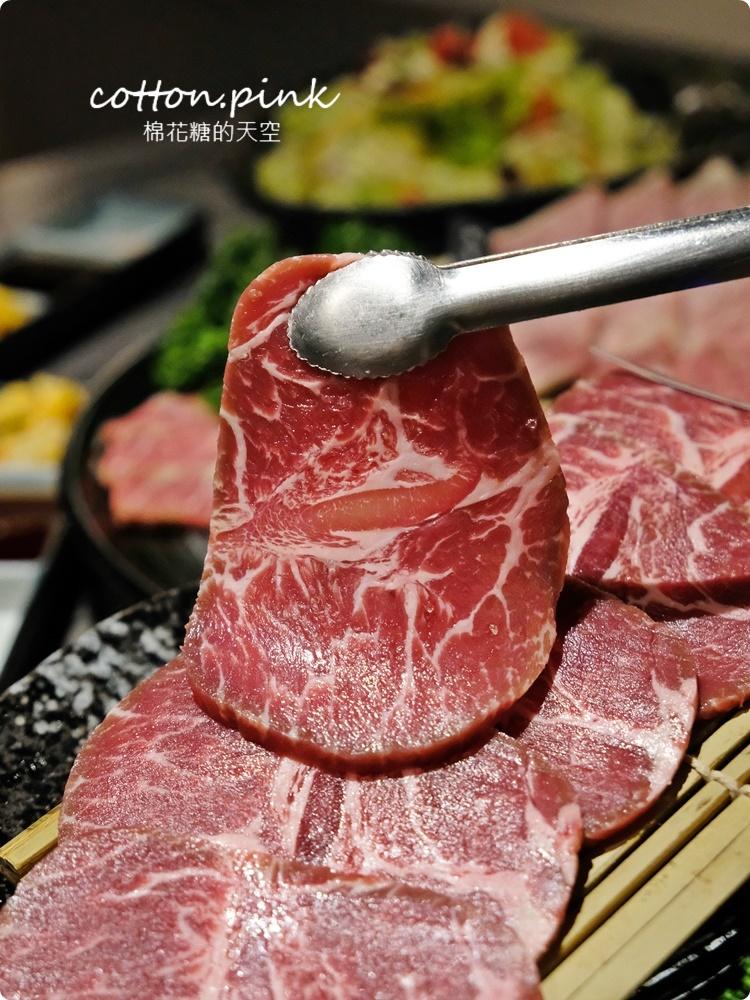 台中燒肉推薦|這家和牛切超厚!想肉燒烤飯後甜點超華麗的啦~