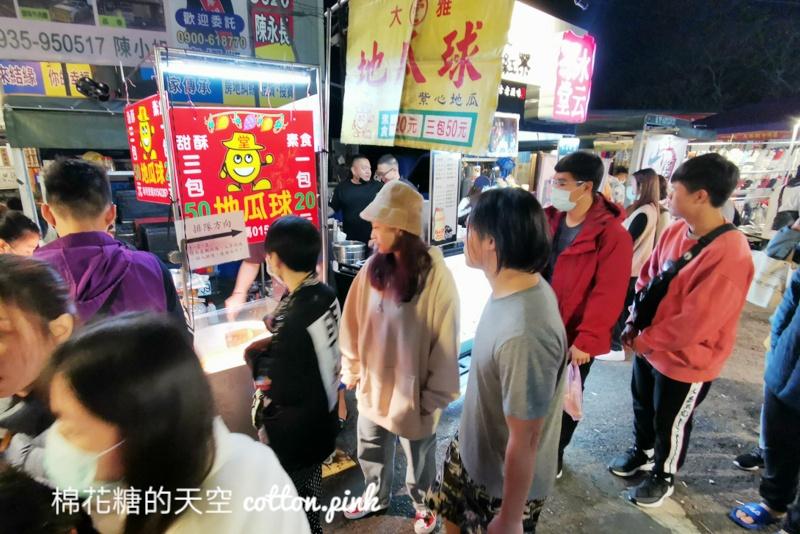 台中大雅夜市排隊攤位懶人包~蔥油餅、豆乳雞……通通有
