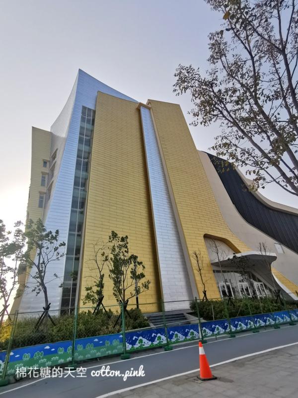 中台灣電影中心即將落成!外觀絢麗必定成為最新打卡景點~就在水湳智慧城
