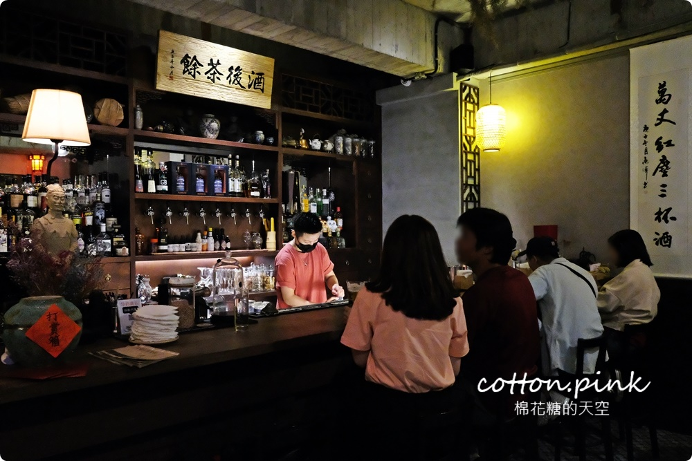 開到三點!台中最新中國風酒吧就在模範街商圈-大人版芋頭牛奶帶微醺~獨家特調只在東瑤堂