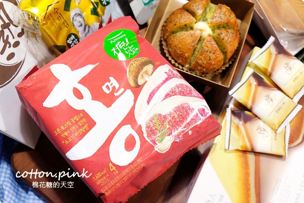 韓國街邊小吃重現!辣炒年糕、牽絲熱狗吃起來~爆漿蒜香包邪惡現烤不能錯過