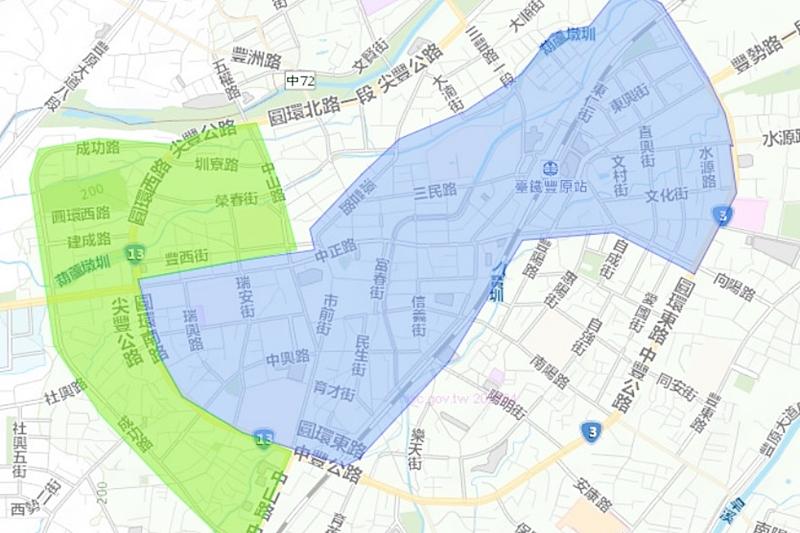 台中這一區今天開始停水減壓!最多19天~廟東夜市也在範圍中