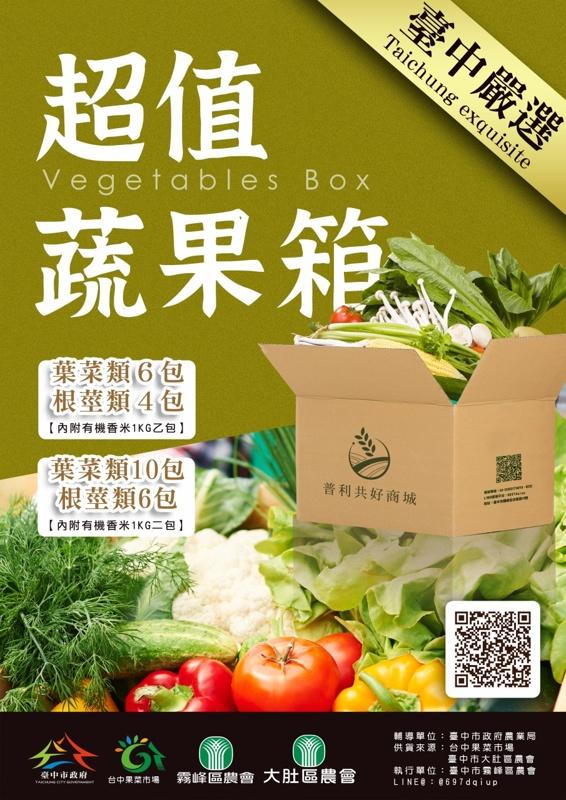 台中市政府推市場採購分流!請大家告訴大家~線上買菜也方便喔!