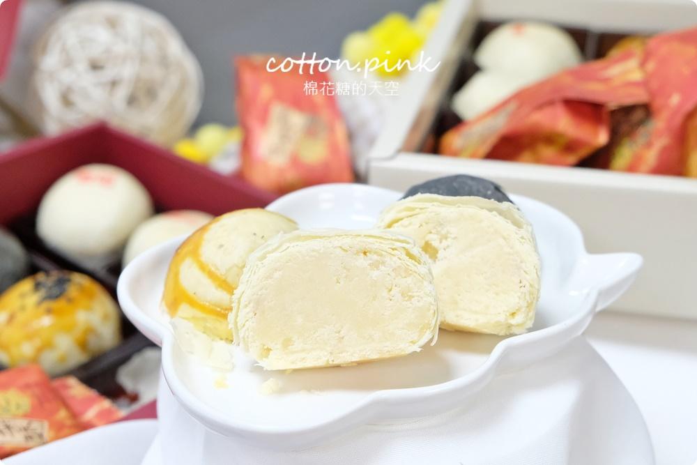 台中首創暗黑蛋黃酥低調上市!糖印麵包台式奶皇酥、芋頭酥外面少見的迷人口感~中秋必吃阿!