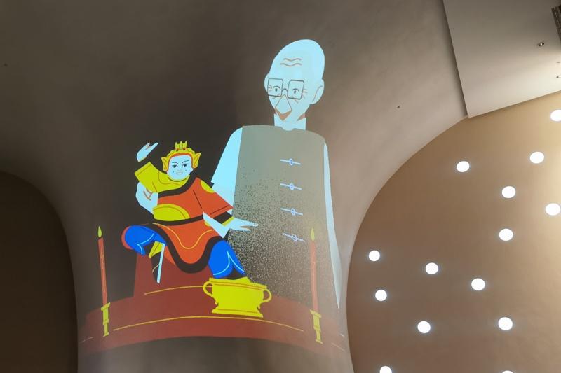 臺中國家歌劇院光之曲幕開放自由入座!四大經典表演躍上洞穴牆面~
