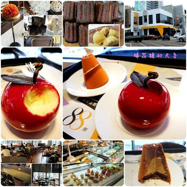 《台中甜點》在SOLA Caffé遇見白雪公主的紅蘋果~姐妹們快來個下午茶約會吧!