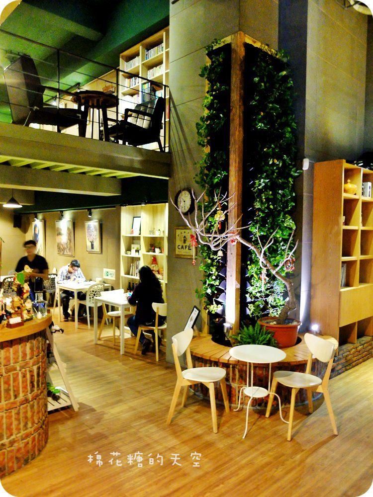 """《台中咖啡》都市角落裡的咖啡城堡~我在""""喝咖啡""""裡頭喝咖啡,享受寧靜好味道"""