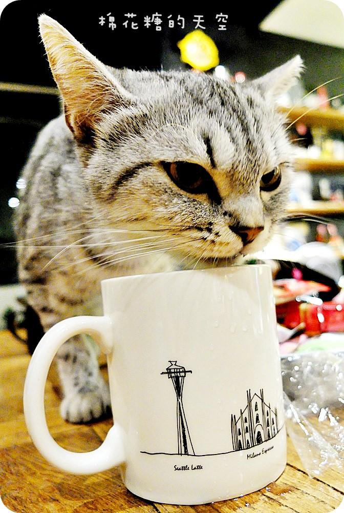 《台中咖啡》逢甲夜市裡也有老宅改建咖啡店!好日咖啡深夜傳來不只咖啡香,還有好料義大利麵~