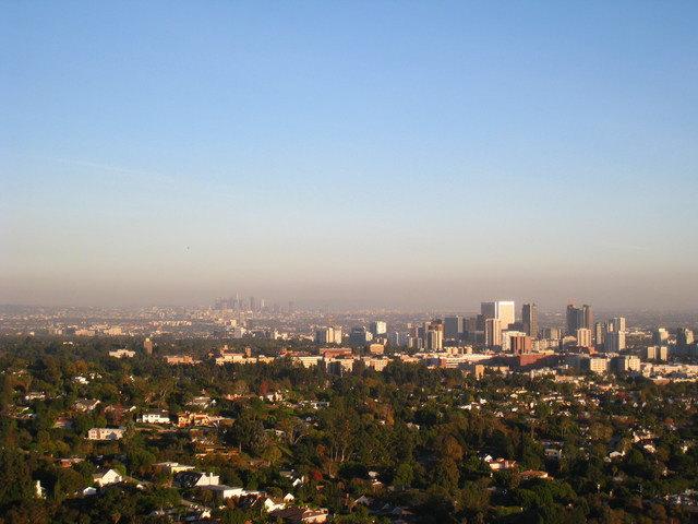 坐公車玩洛杉磯~Getty Center-庭園篇