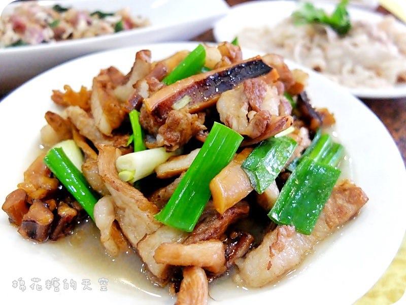 《台中美食》喔~這是阿媽的味道!大祥海鮮屋推出道地客家菜,客家小炒、薑絲炒大腸還有經典梅干扣肉想著都流口水~