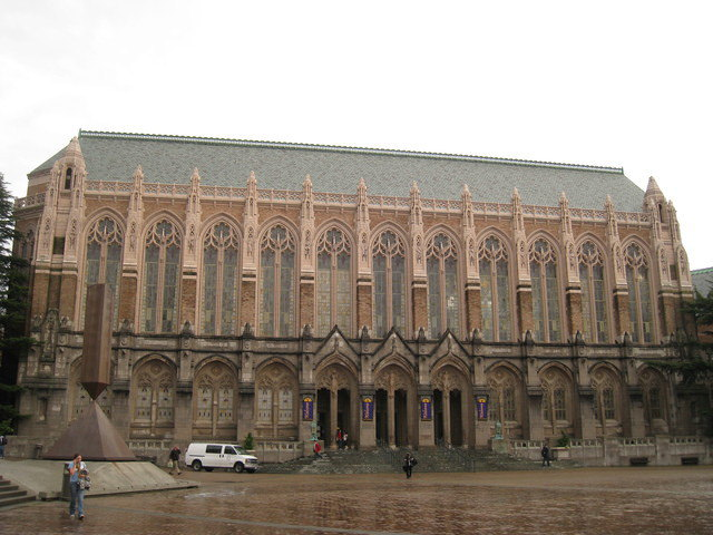 我在西雅圖~華盛頓大學UW校園導覽