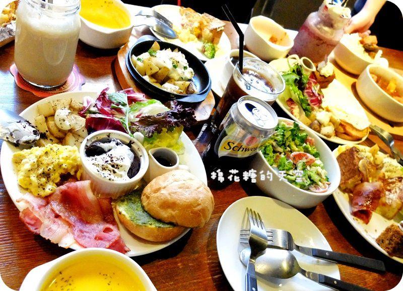 """《台中美食》早午餐、甜點、下午茶""""Oh!Sweet""""一次搞定~還有超好吃手作貝果、超澎湃新菜單cp值超高唷!"""