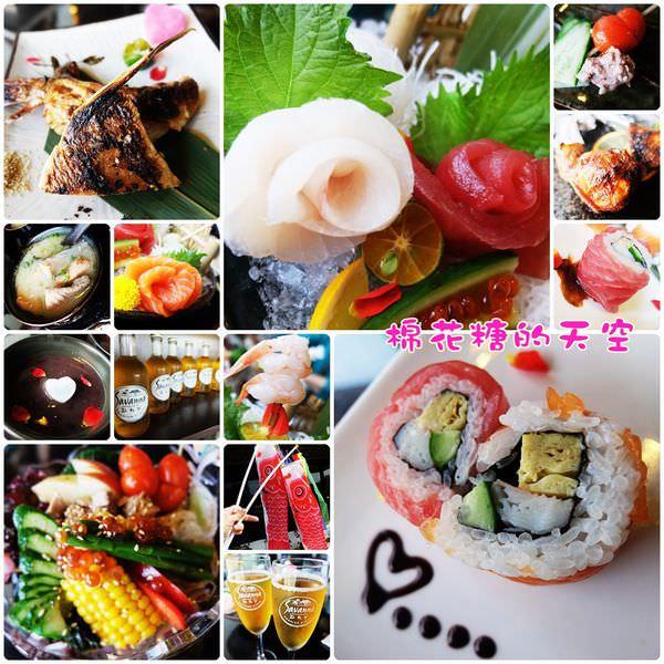 《台中日式美食》情人節大餐換一味~石川立壽司讓情人節微醺又甜蜜!