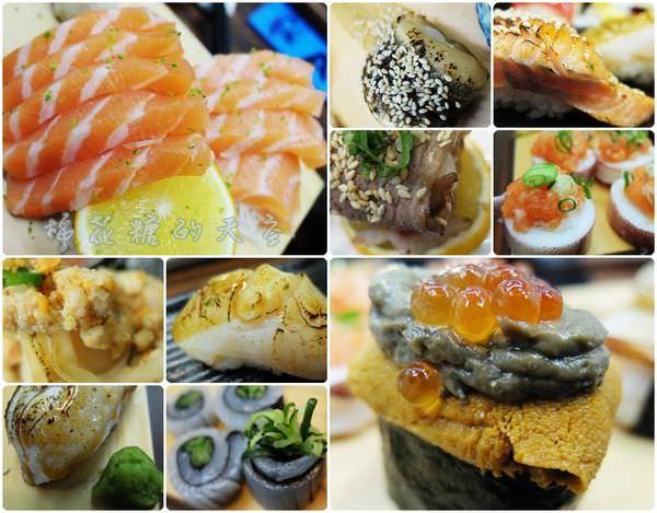 《台中美食》隱身市場的高檔料理,丸億生魚片隱藏版壽司讓你『烙欸孩』