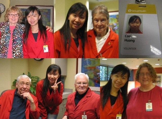我在西雅圖~Group Helath醫院志工畢業日