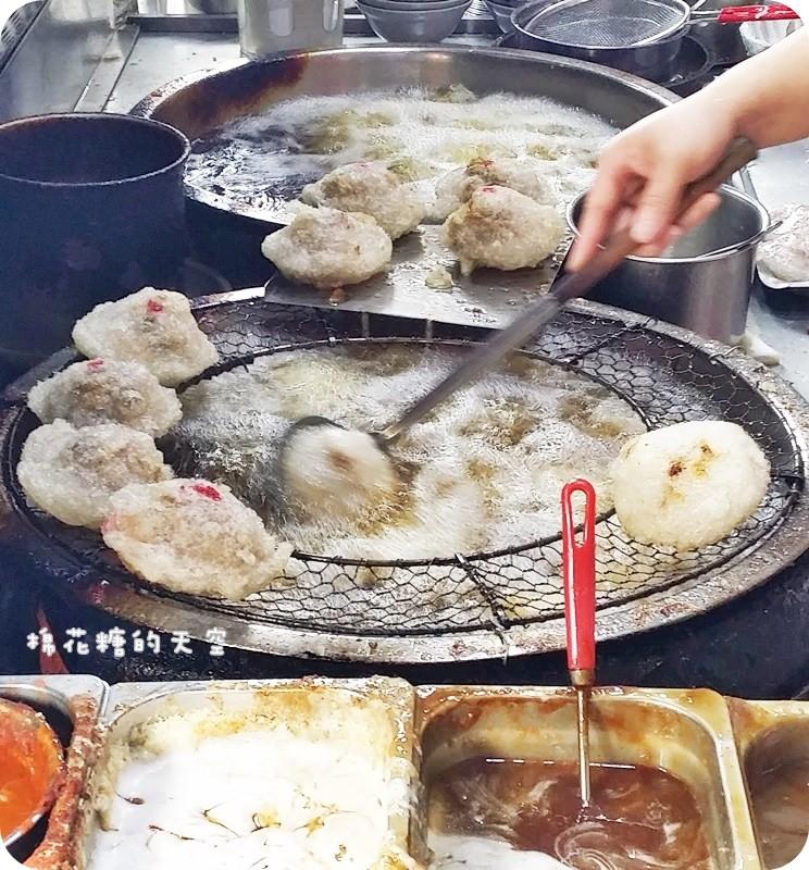 《彰化美食》食尚玩家浩子大推薦阿三肉圓,外酥內Q肉大塊~真的好好吃唷!