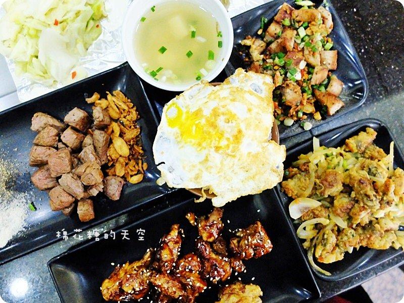 """《台中美食》平價""""上禾承""""鐵板燒物超所值~蜜汁、紅燒、椒鹽、乾煎多種選擇吃不膩!"""