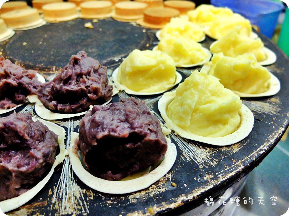 《台北甜點》超好吃爆漿晴光紅豆餅淡水老街開分店囉!依舊爆漿、依舊好好味~帶塊紅豆餅再去吹海風吧!