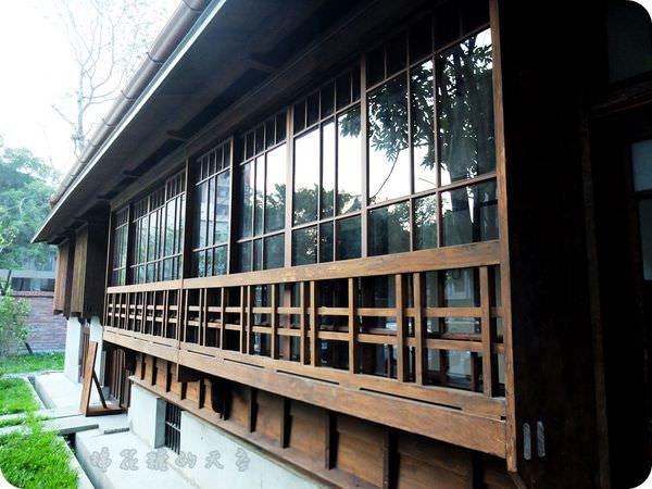 《台中景點》日式風味台中文學館(上)氣質公園伴著有故事的牆