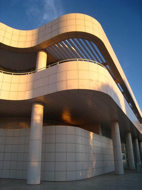 坐公車玩洛杉磯~Getty Center-建築篇