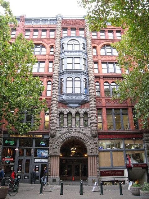 我在西雅圖~Pioneer Square & ChinaTown